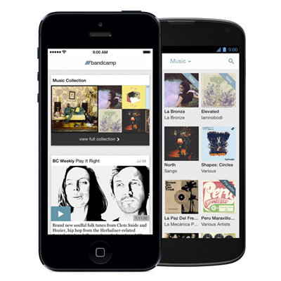 Bandcamp launches Mobile App