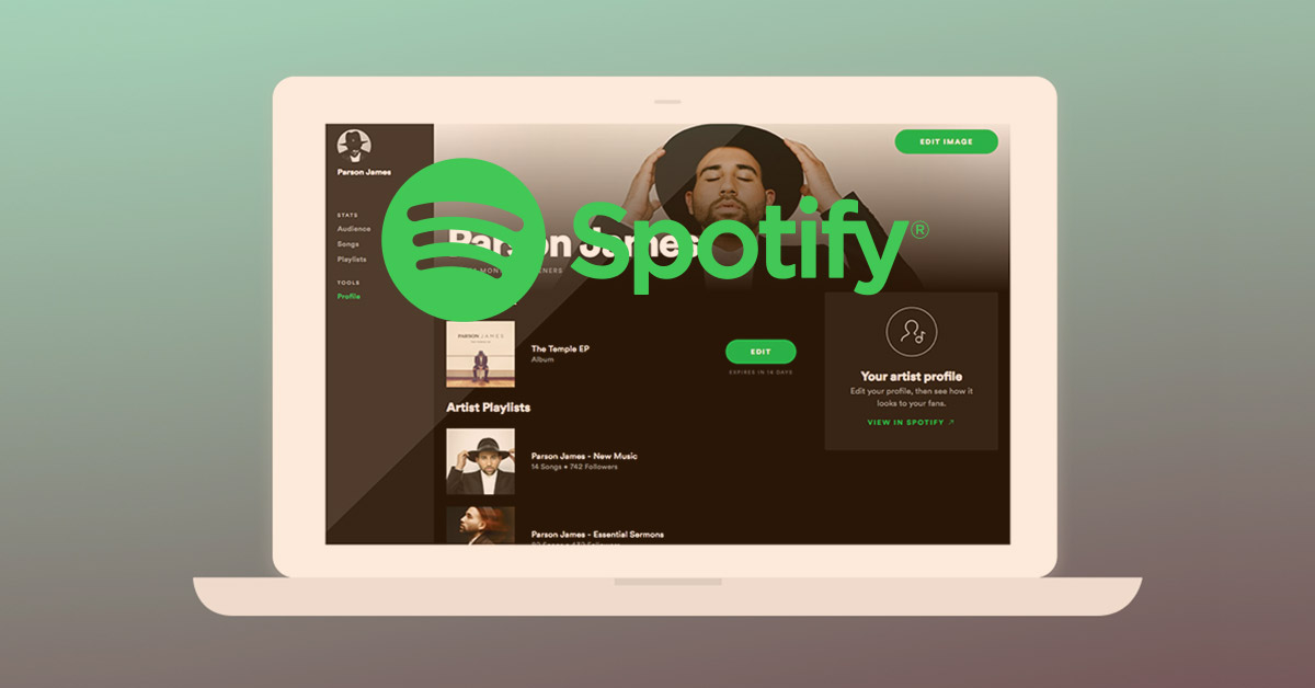 how to add music into spotify