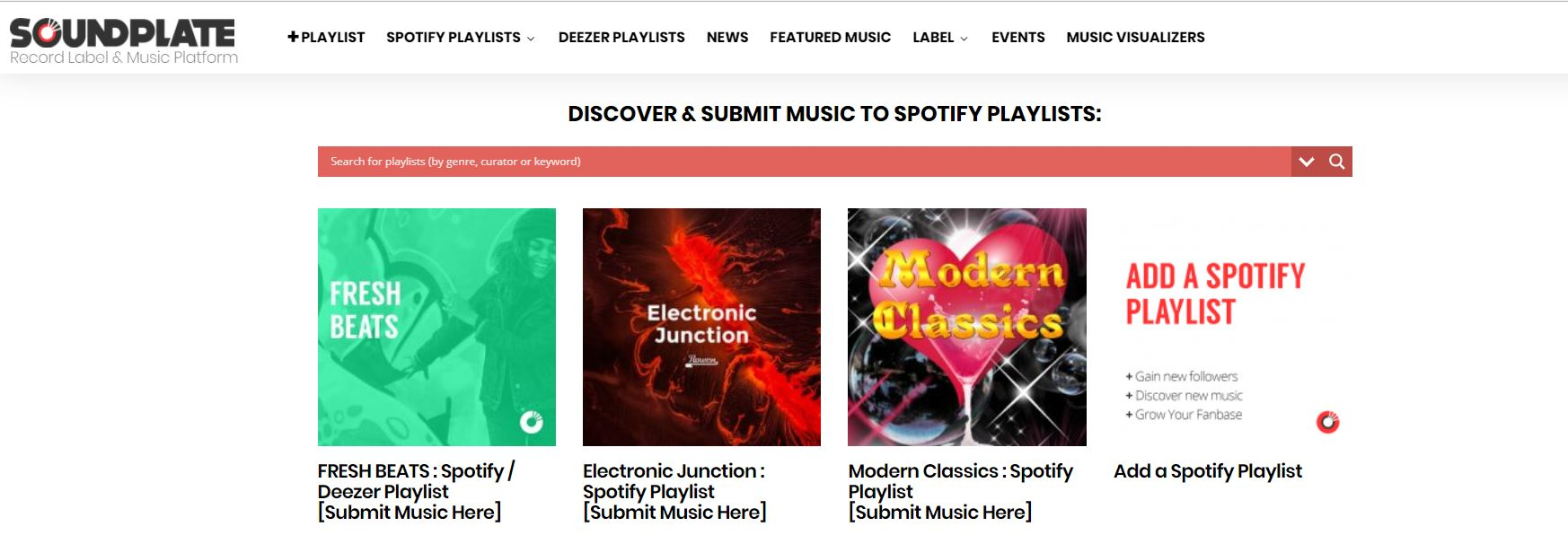 10 Spotify curators' playlists you can submit your music to